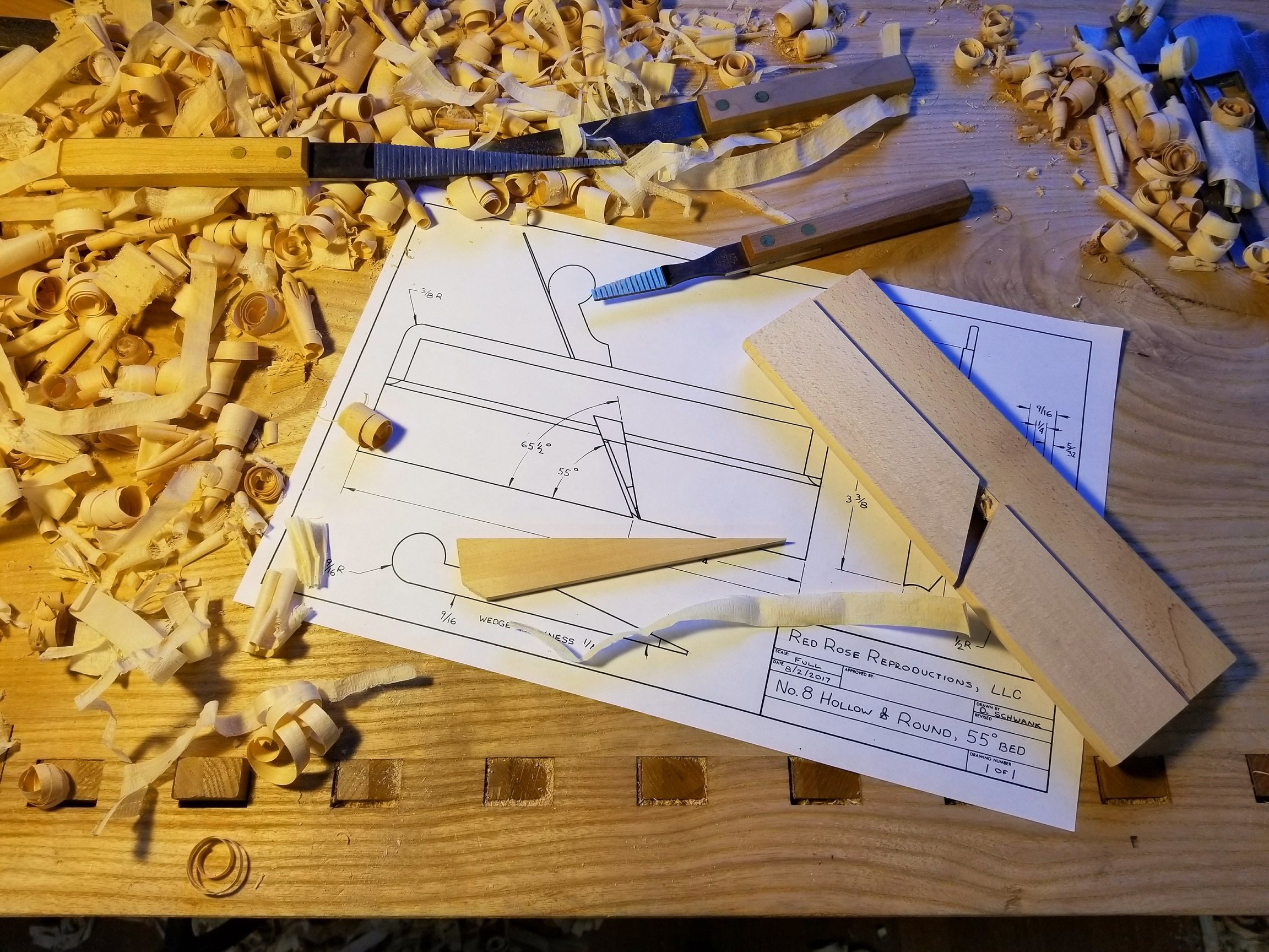 Hollow and Round Plane Making Classes