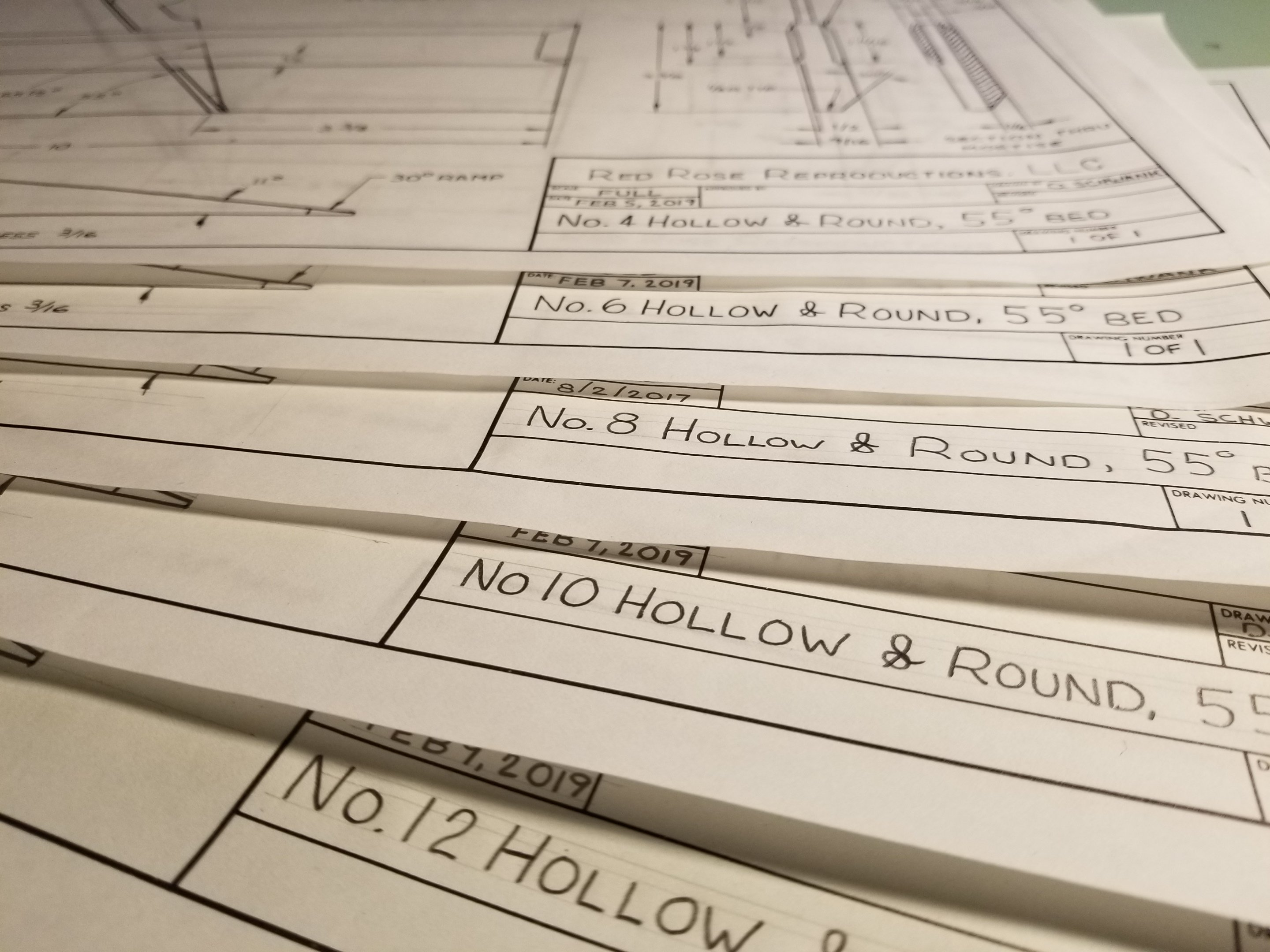 Hollow and Round Plans