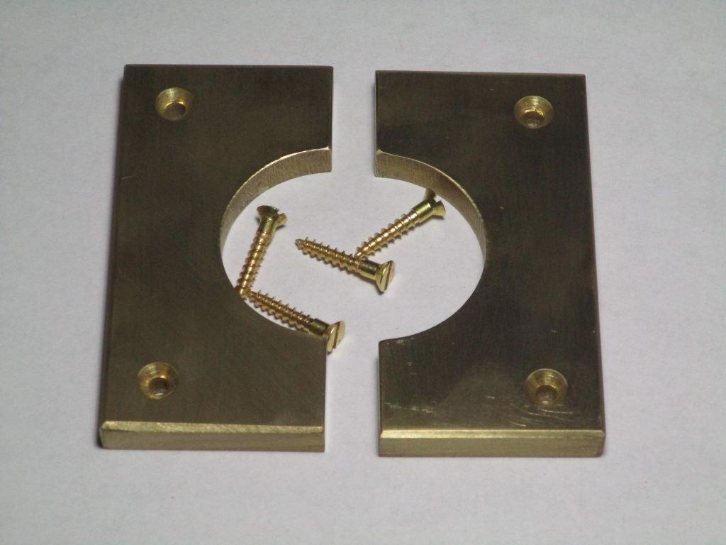 Brass Garter with brass screws.