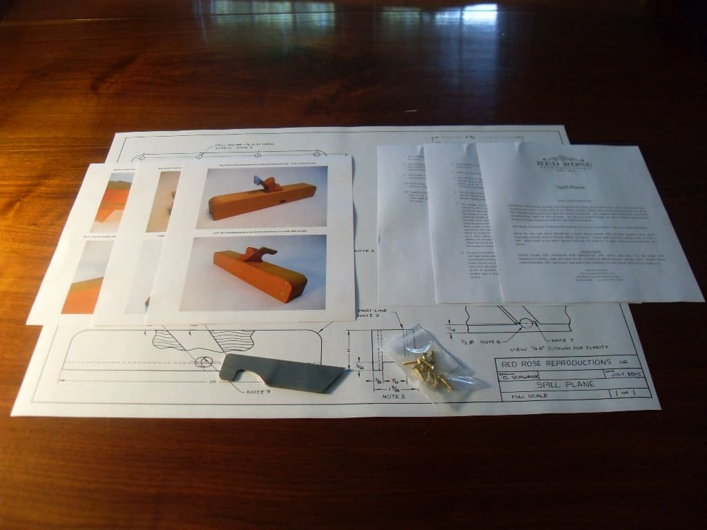 Spill Plane Plan Kit