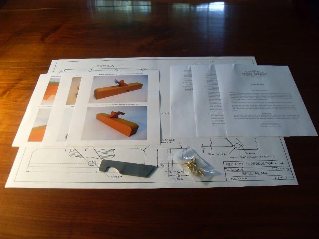 Spill Plane Plan Kit